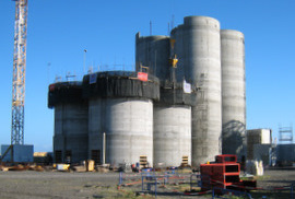 Slipform - 8 silos   crales